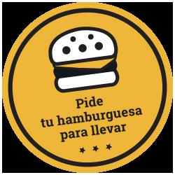 Pide tu hamburguesa para llevar